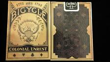Bicycle Colonial Unrest Deck Limited Edition Poker Spielkarten