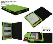 Etui pour Sony PRS-T3 sacoche de transport cuir synth. PRS T3 avec bâti - vert