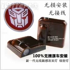 Car Laser Wireless sensor Door Logo Shadow Light Lamp Transformers Autobot Red