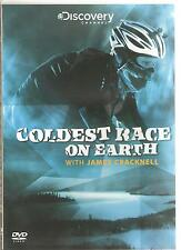 COLDEST RACE ON EARTH WITH JAMES CRACKNELL DVD