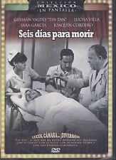 DVD - Seis Dias Para Morir NEW Coleccion Mexico En Pantalla FAST SHIPPING !
