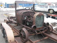 1928 Ford Model A Chassis, Numbers Matching Engine Turns Over 1929 1930 1931