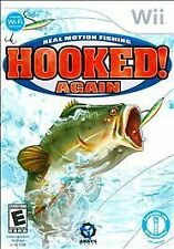Still Sealed In Box !!! Hooked Again: Real Motion Fishing (Nintendo Wii, 2009)