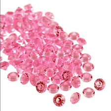 10000 Pcs Diamond Table Confetti Wedding Party Acrylic Crystal Scatter 3-10MM