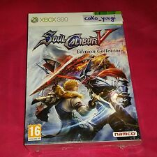 SOUL CALIBUR V SOULCALIBUR V EDITION COLLECTOR  NEUF SOUS BLISTER XBOX 360