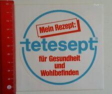 Aufkleber/Sticker: Mein Rezept tetesept (070416193)