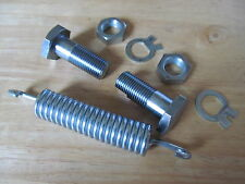 99-9950 1960-62 TRIUMPH 6T T110 T120 TR6 CENTRE STAND SPRING & BOLT FIXING KIT