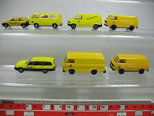AF203-0,5# 7x Herpa H0 modello posta: Opel Corso+Omega, Volkswagen VW, NUOVO
