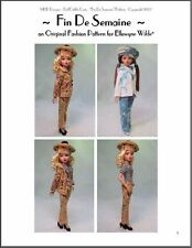 Ellowyne Wilde Fashion Pattern 'Fin De Semaine'