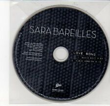 (DD589) Sara Bareilles, Love Song - 2007 DJ CD