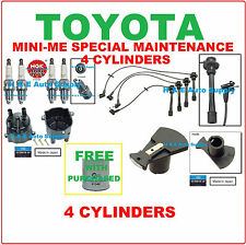 For 94-97 T100 TACOMA TUNE UP KITS: SPARK PLUGS WIRE SET FILTER DIST.CAP & ROTOR