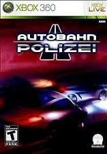 Autobahn Polizei - Xbox 360 - Disc ONLY in generic case. No artwork or manual