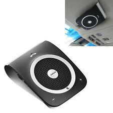 Portable Sun Visor Mini Bluetooth Speakerphone hands free Car Kit Play Music GPS
