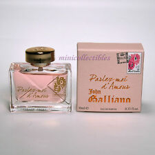 John Galliano PARLEZ MOI D'AMOUR EDP 10 ml Miniature Mini perfume Bottle NIB