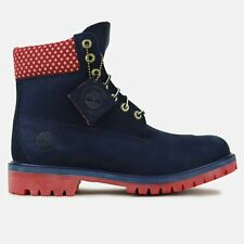 "TIMBERLAND X VILLA SIZE 13 OLD GLORY 6"" PREMIUM BOOT  LIMITED RARE DS JTM"