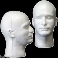 New Prop Building Supplies-MANNEQUIN HEAD-Halloween Costume Mask Wig Display-MAN