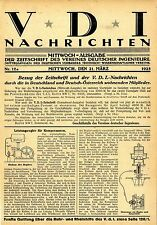 Leistungsregler für Kompressoren * Motoren für Leuchtgas u.a. 1923