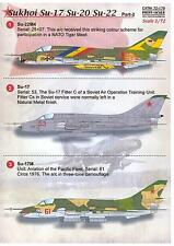 Print Scale Decals 1/72 SUKHOI Su-17 FITTER Russian Jet Fighter Part 2