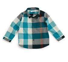 Burberry Boys Twill Check Shirt Size 3 NEW!!