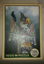Jigsaw Puzzle Ethnic Native American Totem Pole 1000 pieces Cobble Hill 51777