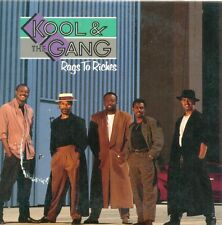 KOOL & THE GANG - Rags to riches 3TR CDS 1988 DISCO