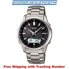 CASIO LINEAGE LCW-M100TD-1A3JF Solar Multiband 6 Titanium Men's Watch Japan F/S