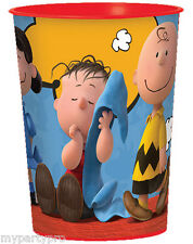 Charlie Brown and Gang Plastic Treat Cups Birthday party supplies FREE SHIPPING