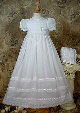 """Cluny Lace Christening Gown """"Molly"""", 3 month, Cotton"""