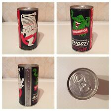 RARE COCA COLA GHOSTBUSTERS II LATTINA PROMOZIONALE 1989 GHOST IN A CAN
