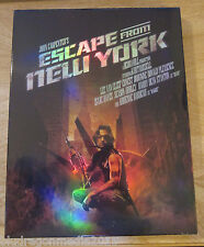 Escape From New York Blu-Ray Full Slip Elite Case New x/500 SOLD OUT ALMOST GONE