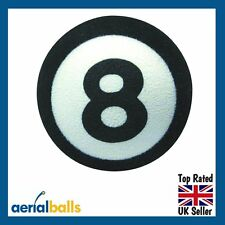 REDUCED...Lucky 8 Eight Ball Pool Magic Car Aerial Ball Antenna Topper