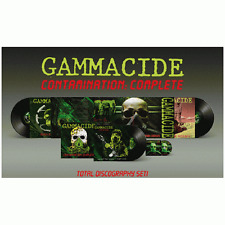 GAMMACIDE - Contamination: Complete BOX SET (NEW*LIM.350 BLACK*US 80's THRASH)
