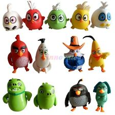 13pcs/Set Cartoon Angry Birds Series Games Toy Doll Action Figures Model Gifts