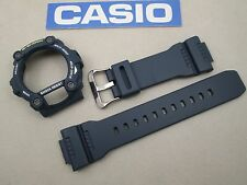 Genuine Casio G-Shock G-7900 G-7900-2 navy blue resin watch band bezel screws