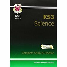 KS3 Science Complete Study Practice CGP Books Coordination Group . 9781841463858