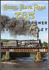 NKP 765 LIMA SUPER POWER IN THE LEHIGH VALLEY 2015 LEHIGH LINE EXCURSIONS BLURAY