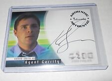 The 4400 Season 2 Autograph Trading Card #A-18 Kavan Smith as Agent Garrity