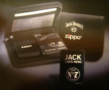 Zippo Jack Daniels Lighter & Playing Cards Set-Limited Edition