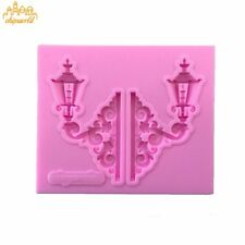 Street Lamp Fondant Cake Mold For Jelly,Candy,Chocolate Soap Decorating Mould