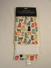 Ulster Weavers Tea Towel - Kitchen Dish Towel - Double Pack - Cats Arrived