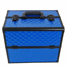 Beauty Case Make Up BS38 XXL Blue Valigia Cofanetto Porta Gioie Smalti Oggetti