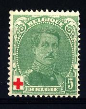BELGIUM - BELGIO - 1914 - Pro croce rossa. Effigie di Re Alberto I