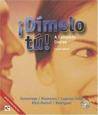 Dmelo t!: A Complete Course (with Audio CD)