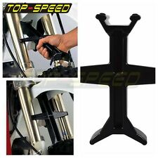 Black Fork Support Rest Seal Saver Transportation Protection Fit Off Road Bikes