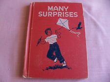 MANY SURPRISE BOOK FROM THE DEVELOPMENTAL READING SERIES A 1954 EDITION