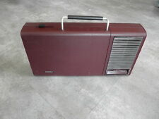1970s PHILIPS PORTABLE RECORD PLAYER TURNTABLE atomic ages space Suitcase retro