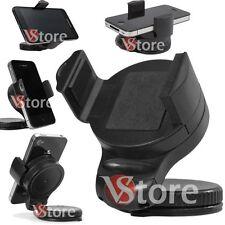 Support Porta Cellulare Universale Supporto Auto per Smartphone GPS 360 Ventosa