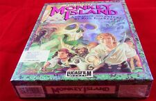 The secret of Monkey Island-shrinkwrapped and signed by ron Gilbert