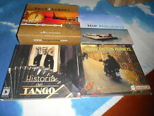 BEST4 TRAVEL CD BOX SET HIP HOLIDAYS/MIDDLE EASTERN JOURNEYS/HISTORIA DEL TANGO
