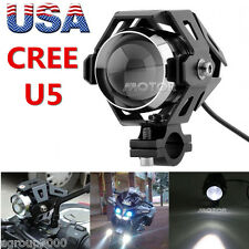 Black Motorcycle CREE U5 LED Driving Headlight for Suzuki Intruder VS VL 750